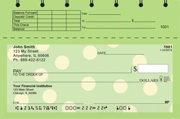 New personal check designs leading for New check designs