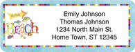 Another Day in Paradise Return Address Label