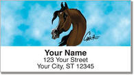 Arabian Horse Address Labels