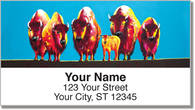 Bison Address Labels