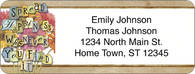 Blooming Reflections Return Address Label