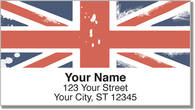 British Address Labels