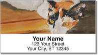 Calico Cat Address Labels