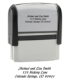 Calligraphy Return Address Stamper