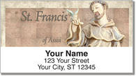 Christian Saint Address Labels