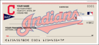 Cleveland Indians Recreation Personal Checks - 1 Box - Singles