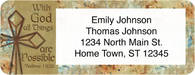 Crosses of Faith Return Address Label