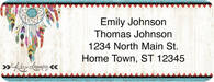 Dreamcatchers Return Address Label