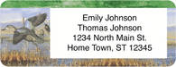 Ducks Return Address Label