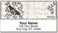 Eldridge Butterfly Address Labels