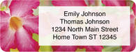Exotic Flowers Return Address Label