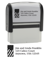 Flag Address Stamper