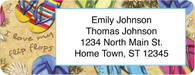 Flip Flops Return Address Label