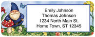 Garden Gnomes Return Address Label