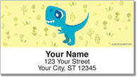 Holeman Dino Address Labels