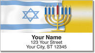 Jewish Tradition Address Labels