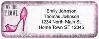 Kick Up Your Heels Return Address Label