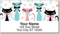 Kitty Galore Address Labels
