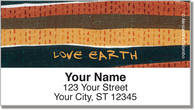 Love Earth Address Labels