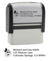 Mickey Mouse Return Address Stamper