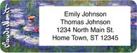 Monet: Nature Return Address Label
