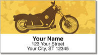 Motorcycle Mix Address Labels