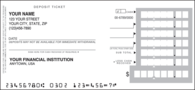Personal Deposit Tickets