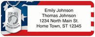 POW/MIA Return Address Label