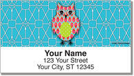 Puma Colorful Owls Address Labels