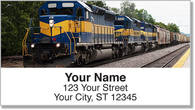 Railroad Address Labels