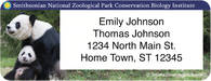 Smithsonian National Zoo Return Address Label