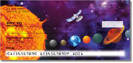 Blast off and explore the universe with personal checks featuring the planets of the solar system!