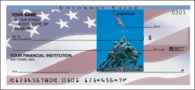 Stars & Stripes Side Tear Personal Checks - 1 Box - Duplicates
