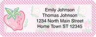 Strawberry Fields Return Address Label