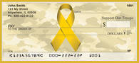 Support Our Troops Ribbon Personal Checks