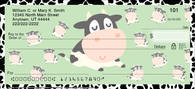 Udderly Cute Cows Personal Checks