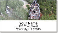 Unique Birdhouse Address Labels