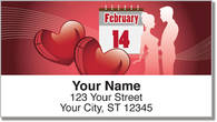 Valentine's Day Address Labels
