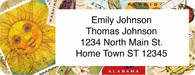 Vintage Stamps Return Address Label