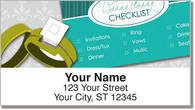 Wedding Planner Address Labels